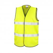 Quantité de 1 à 20ex Gilet jaune de sécurité personnalisé ou publicitaire