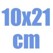 10 X 21 cm