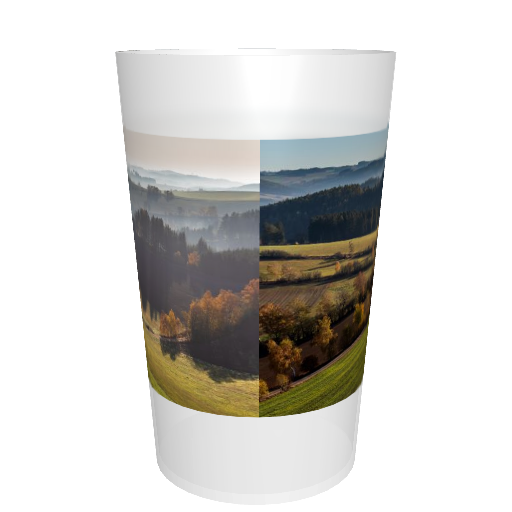 Ecocup neutre personnalisable Photo tour complet (sans graduation)