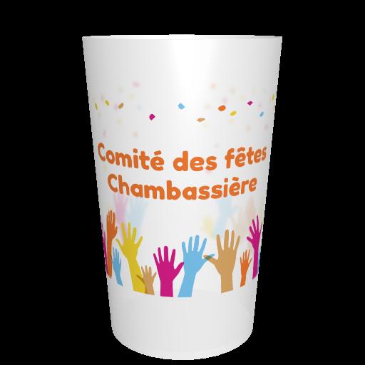 Eco-cup association reusable