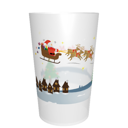 Eco-cup Christmas reusable