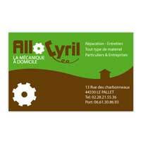 Carte de visite Allo Cyril